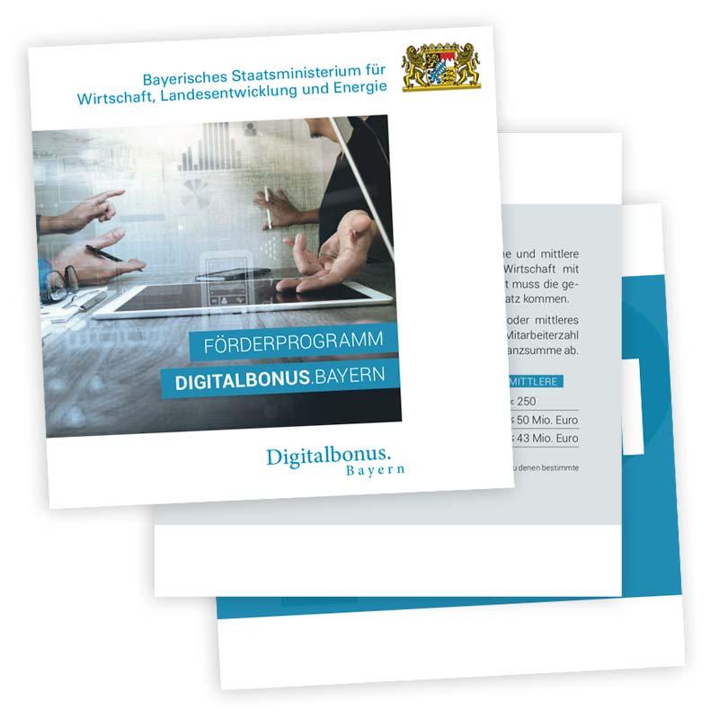 Download Broschüre zur Förderung Digitalbonus Bayern