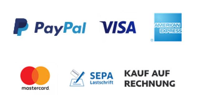 Mit PayPal Plus lassen sich in Online-Shops bequem  Zahlungen auf Rechnung, per Kreditkarte wie MasterCard, Visa und AmericanExpress oder Lastschrift durchführen.