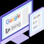 SEO Suchmaschinenoptimierung Google Bing für Website und Webshop