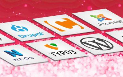 Die beliebtesten Content-Management-Systeme