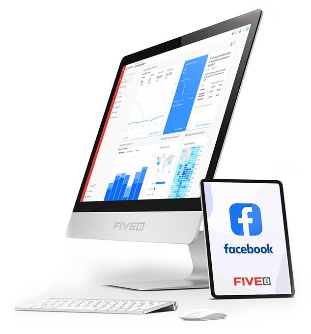 FIVE8 - ihre Internetagentur für Facebook Werbung und Facebook Marketing in der Region Rosenheim