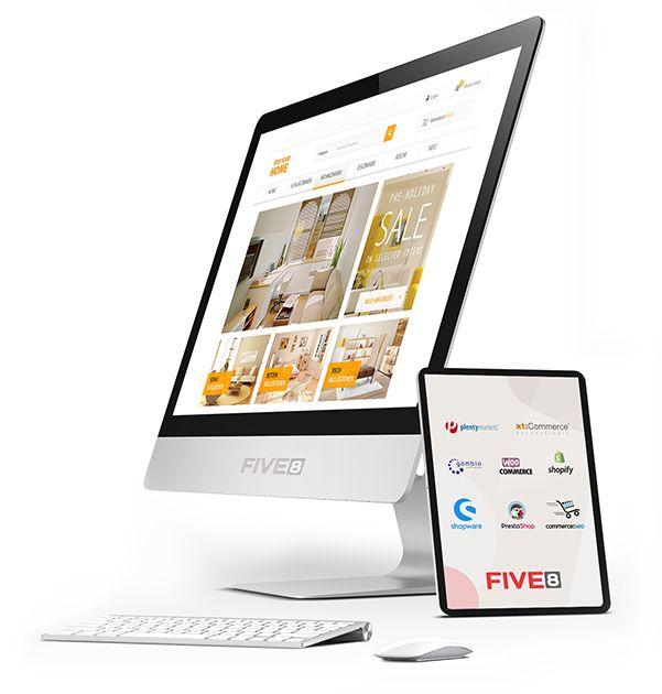 Shopware Agentur: Relaunch Shopware Online Shop Internetagentur Region Rosenheim