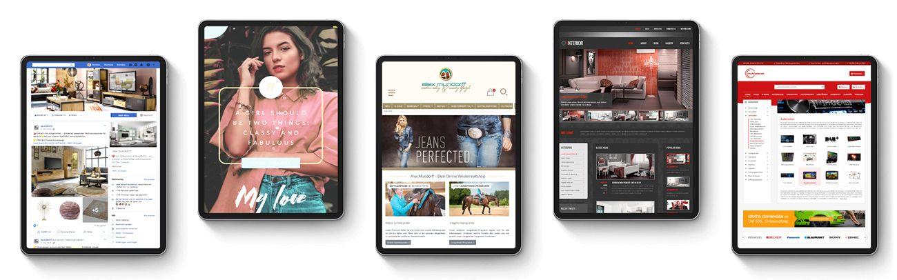 Shopware Agentur für Onlineshop und Webshop Relaunch