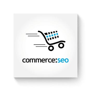 commerce:seo Shop Einrichtung und Erstellung sowie individuelle Anpassung und Programmierung durch unsere Agentur in der Region Rosenheim.