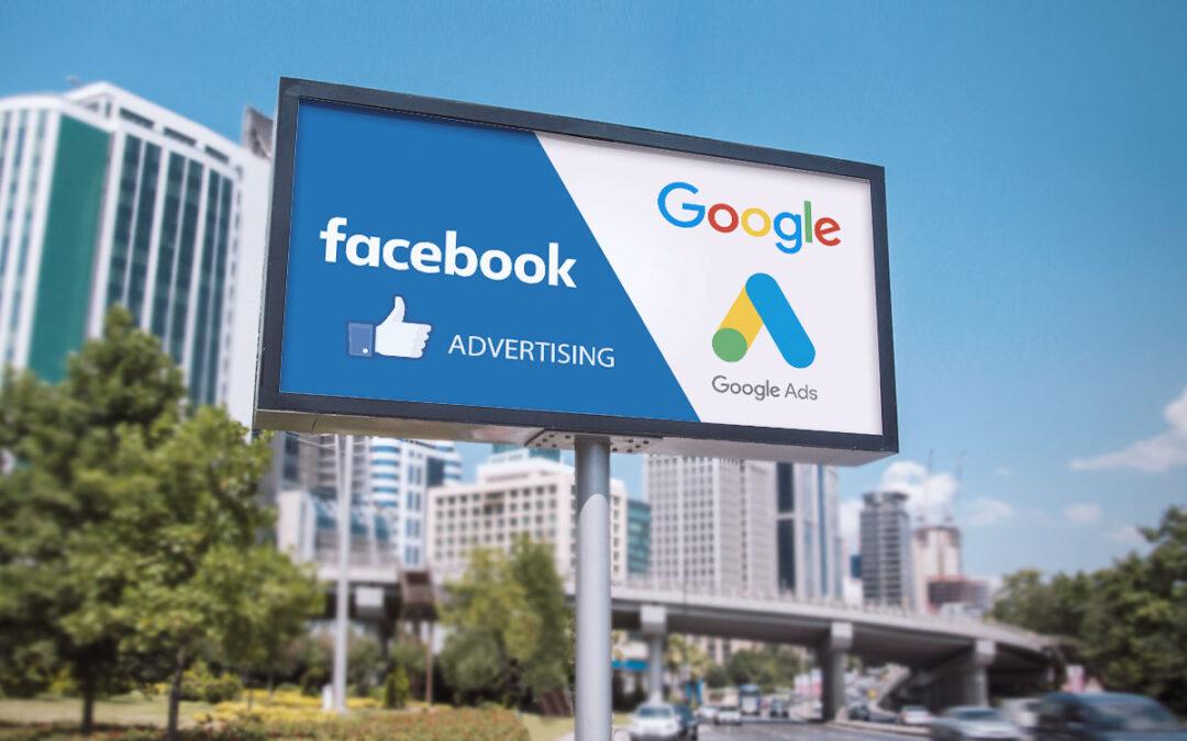 Internet-Werbung – Google Ads oder Facebook Ads?