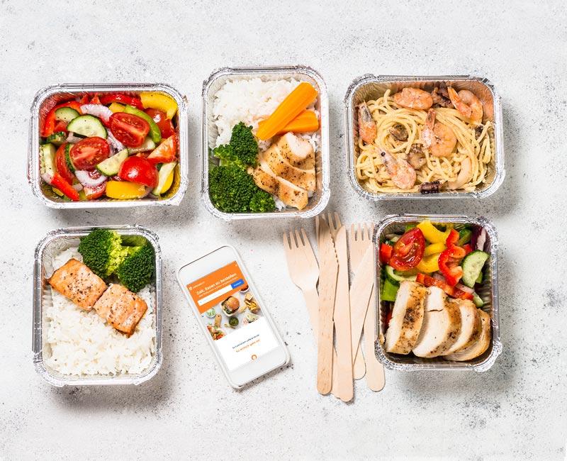 Lieferdienste und Online-Bestell-Plattformen wie Lieferando, Delivery Hero oder Hellofresh sind die Gewinner, da Gastronomiebetriebe geschlossen haben.
