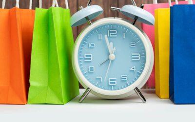 Wecker stellen: Wann Kunden meistens online shoppen