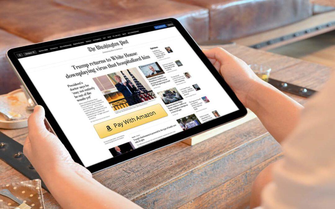 Erfolgsgeschichte Amazon Pay und Washington Post