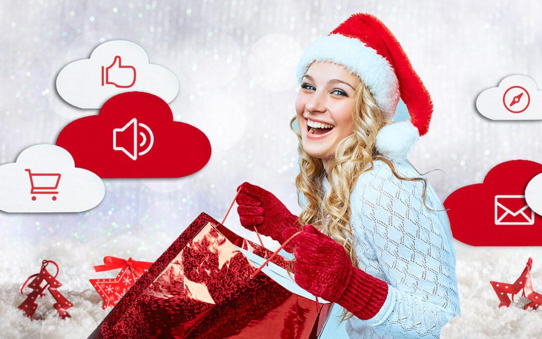 Erfolgreiche Onlineshop Werbung zu Weihnachten