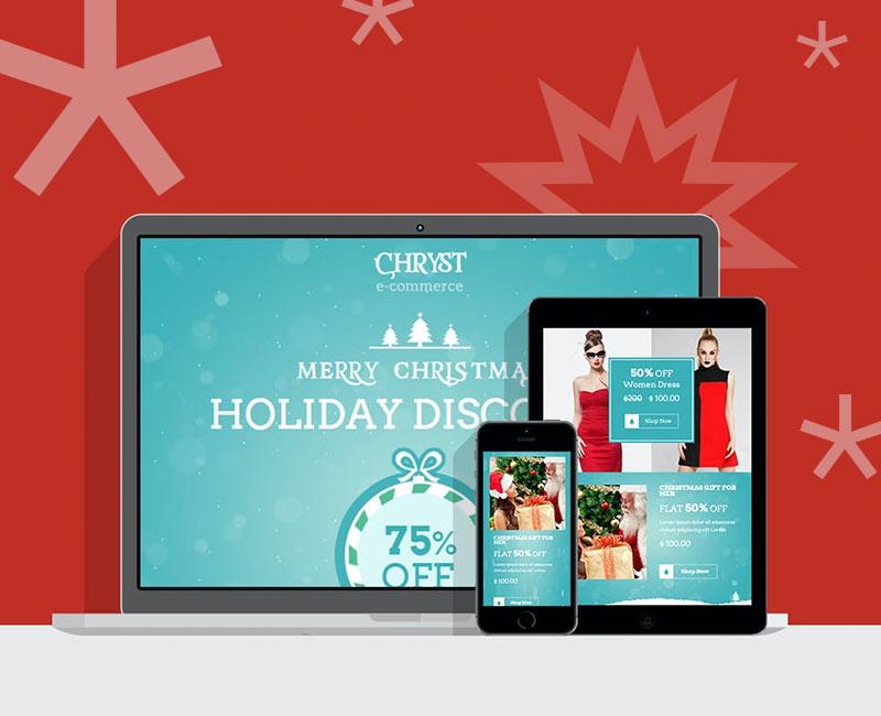 Zusätzlicher Umsatz in der Weihnachtszeit: Ein ansprechender Newsletter animiert zum Shopping im Onlineshop