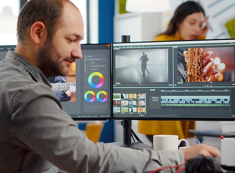 Produktfilm und Produktvideo Filmschnitt, Animation und Farbkorrektur für Filmproduktion und Videoproduktion in der Region Rosenheim und München.